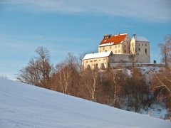 Die Waldburg im Winter